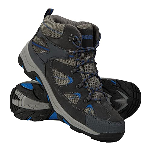 Mountain Warehouse Rapid Mens Boots  Waterproof Rain Shoes Leather Suede Walking  Shoes Good