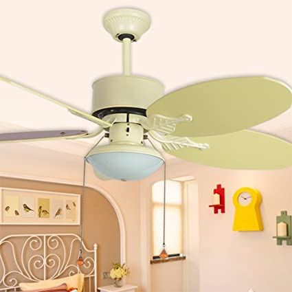Luxurefan simple ceiling fan lamp for modern bedroomstudy with led luxurefan simple ceiling fan lamp for modern bedroomstudy with led light and wood leaf aloadofball Choice Image
