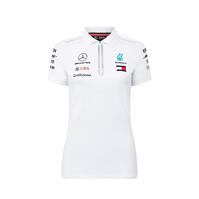 Mercedes AMG Petronas Polo Motorsport Team F1 Team - Mujer: Amazon ...