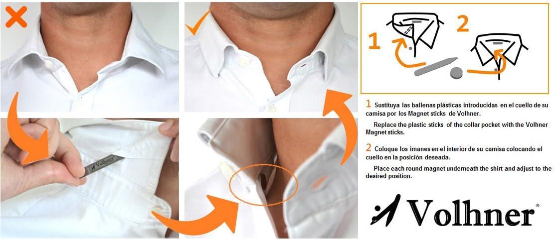 3 pares de ballenas magnéticas para camisas: Amazon.es: Hogar