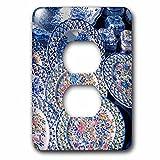 Danita Delimont - Pottery - Portugal, Oporto, Portuguese ceramics for sale - Light Switch Covers - 2 plug outlet cover (lsp_227838_6)