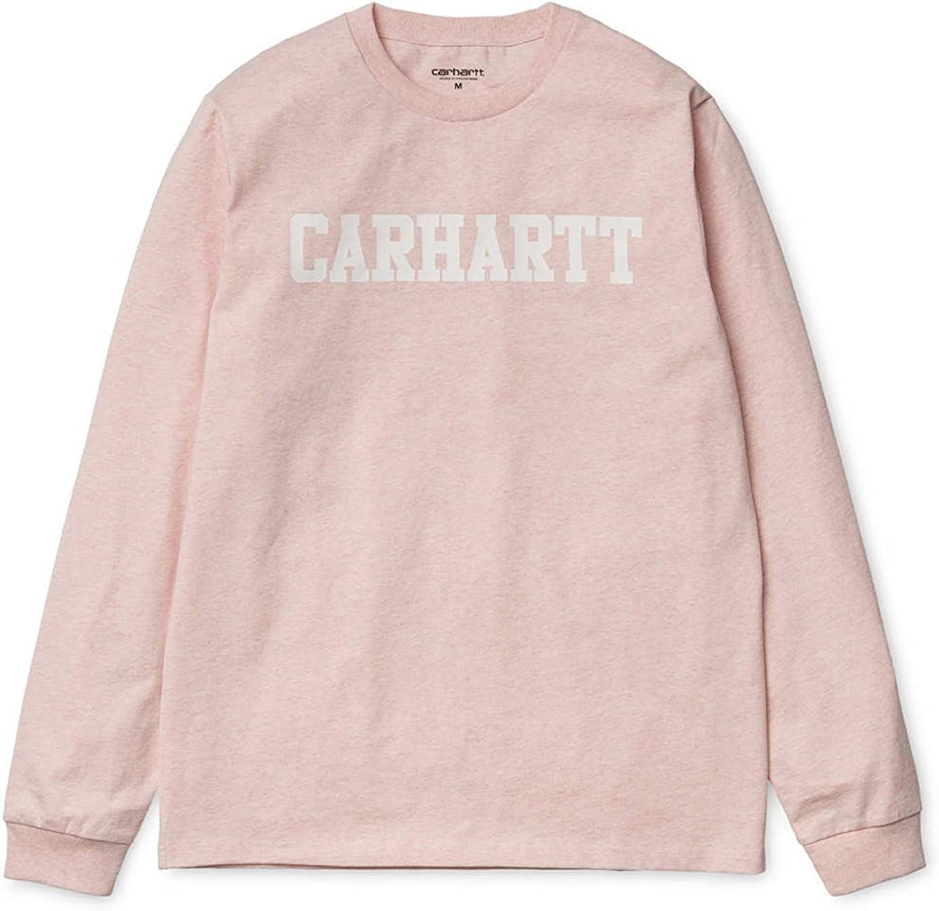 Carhartt - Camiseta de manga larga - para hombre Rosa Rose Heather X-Small: Amazon.es: Ropa y accesorios