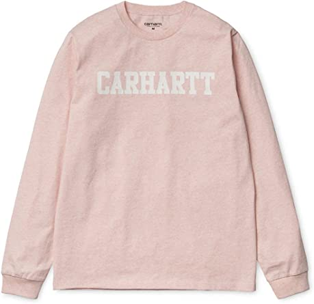 Carhartt - Camiseta de manga larga - para hombre Rosa Rose Heather ...