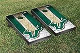 South Florida USF Bulls Cornhole Game Set Vintage Version