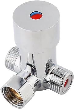 G1 / 2 Válvula Mezcladora de Agua Fría y Caliente Válvula ...