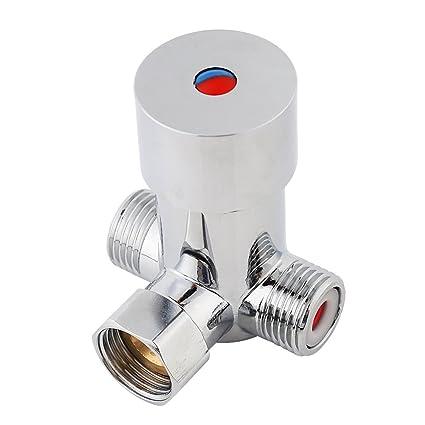 Valvula termostatica para calentador de agua