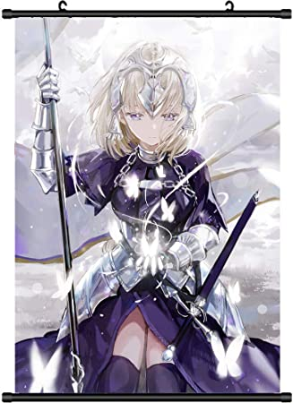 Poster Anime Fate//Stay Night Rin Tohsaka Room Decor Wall Scroll Painting 60*90CM