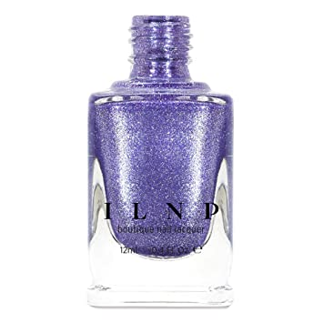 Amazon.com: ILNP Mila - ICY Purple Holographic Ultra Metallic Nail ...