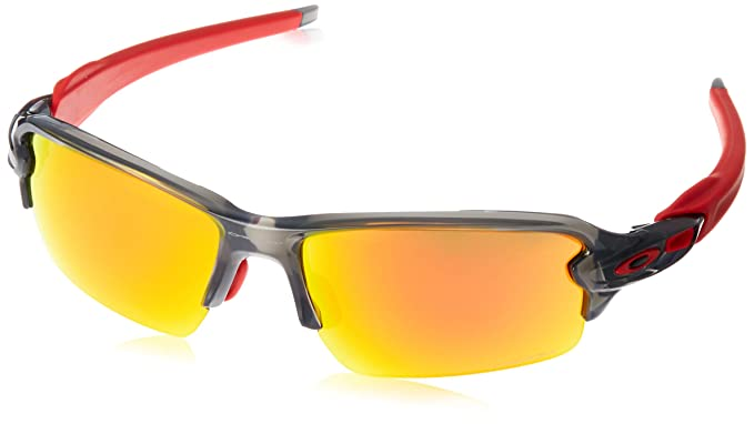 cad70b156e1d8 Image Unavailable. Image not available for. Color  Oakley Men s Flak 2.0  Asian Fit Sunglasses ...