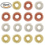 Spiky Sensory Finger Rings (Pack of 15) – Great Fidget / Sensory Toy For Kids And Adults,3 Colors