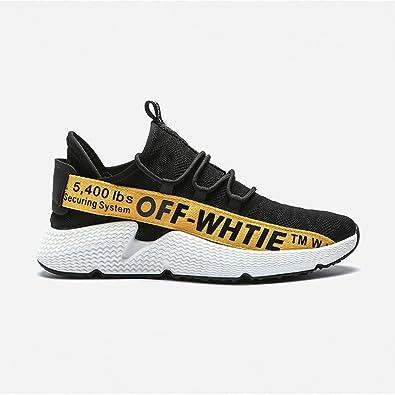 Running Shoes Zapatillas de Deporte, Zapatos de Hombre de Rayas ...