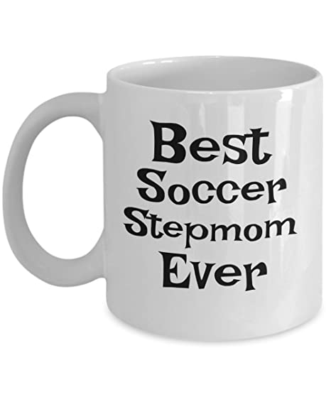 Amazon.com: Fútbol stepmom – Taza Best Paso Mom Ever ...