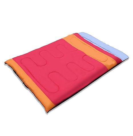 LBAFS Saco De Dormir Doble Adulto Cuatro Estaciones Disponibles Calor De Pareja Grande De Espacio,
