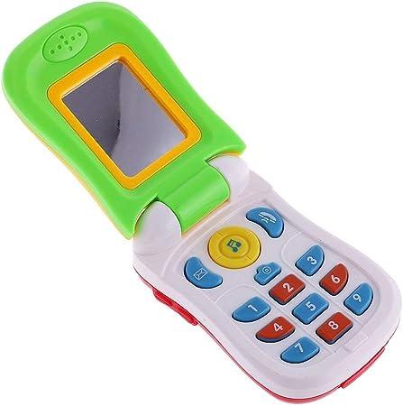 Haiyemao Telefono Giocattolo Flip Phone for Bambini con