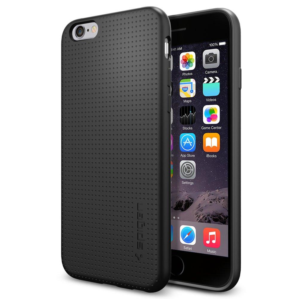 quality design a8747 9bb68 iPhone 6 Case, Spigen [SOFT-FLEX] Soft TPU Case [Capsule] [Black] Premium  Flexible Soft TPU / Extra Grip Case for iPhone 6 (2014) - Black (SGP11019)
