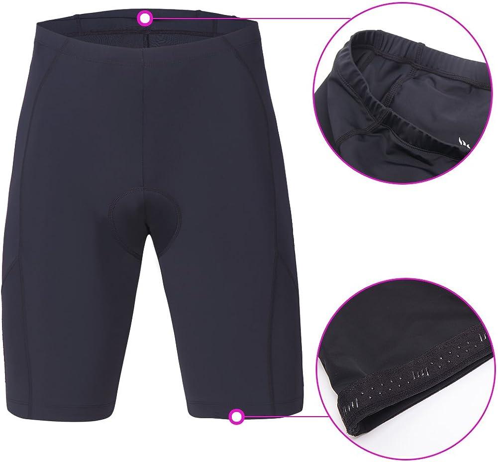 3D Padded Bike Shorts beroy Mens Comfortable Bicycle Cycling Pants