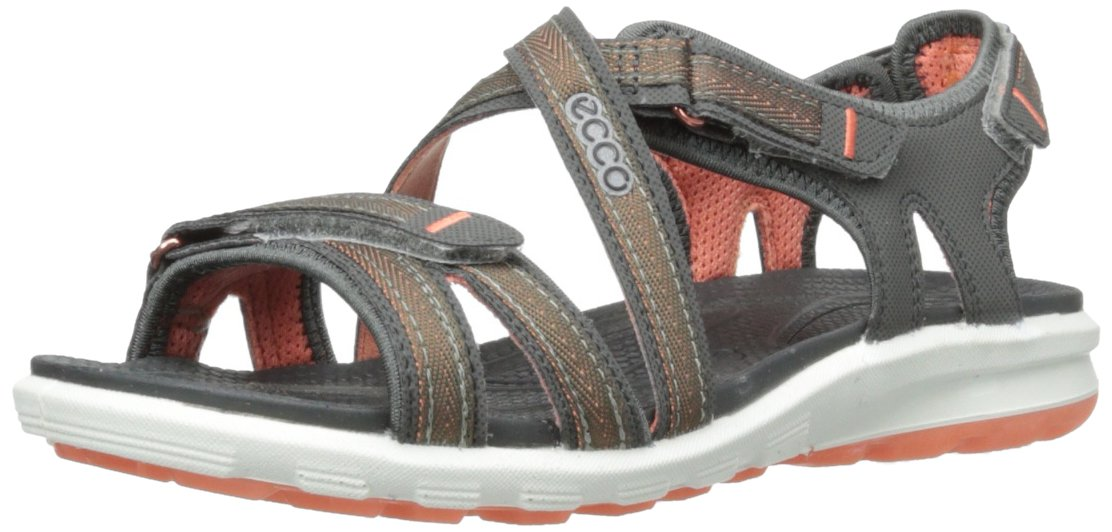 ECCO Women's Cruise Sandal,Dark Shadow,40 EU/9-9.5 M US