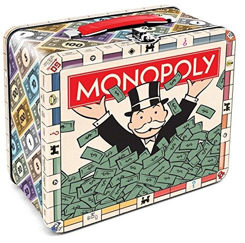 Monopoly Bank (Aquarius Monopoly Large Tin Fun Box/Bank)