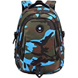 MATMO Kids Backpack Waterproof Camouflage Student Backpack School Bag Bookbag