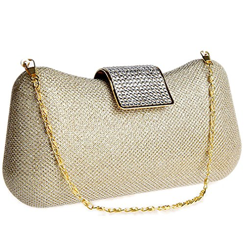 Women's Bags Evening Sequins Belsen Wedding Gold Clutch BqAw8dt8