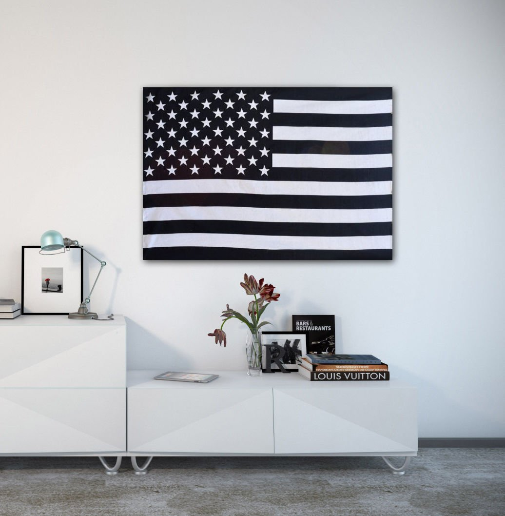 Amazon american flag tapestry usa flag wall hanging black and amazon american flag tapestry usa flag wall hanging black and white twin wall decor home kitchen amipublicfo Image collections
