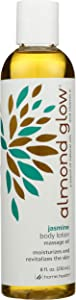 Home Health Almond Glow Lotion, Jasmine, 8 Ounce