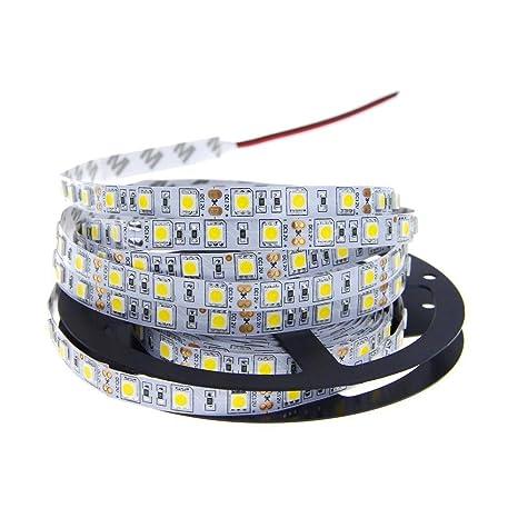buy online ad620 99f3d Voltways® LED Strip 5050 DC12V 60LEDs/m 5m/lot LED Ribbon Tape with self  Adhesive Flexible LED Light RGB RGBW 5050 LED Strip Home ...