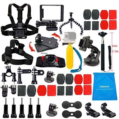 lifelimit-accessories-starter-kit-for-gopro-hero-5-session-4-3-2-hd-original-black-silver-cameras