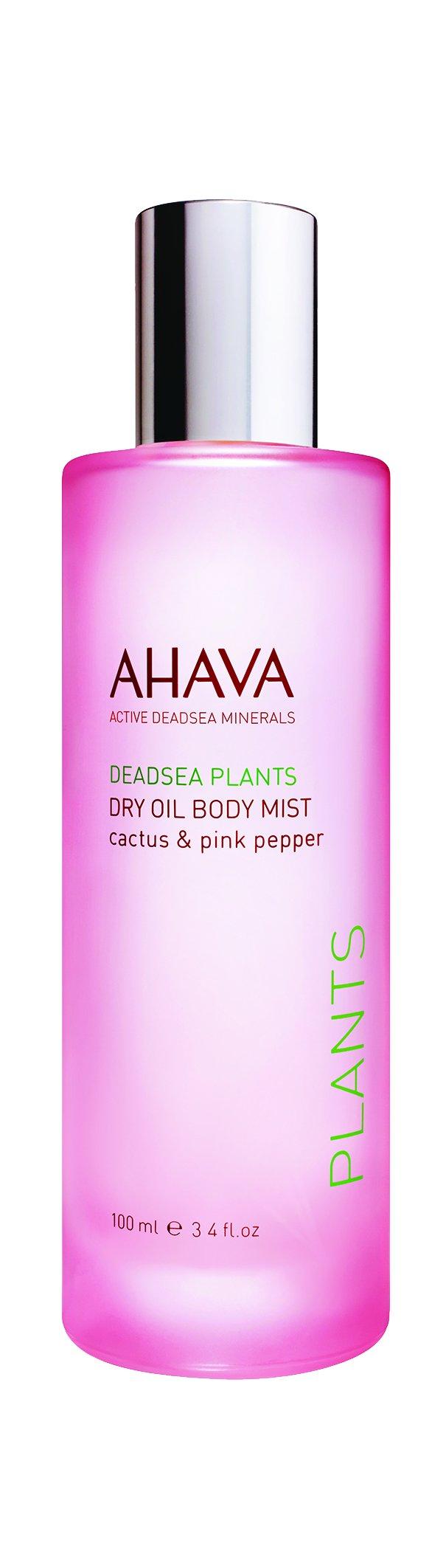 AHAVA Dry Oil Body Mist Cactus And Pink Pepper, 3.4 fl. oz.