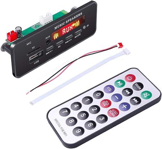 Wireless Bluetooth 12V MP3 WM Decoder Board udio Module for Car PRO /&