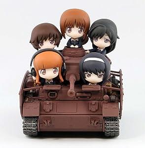 ぺあどっと ガールズ&パンツァー IV号戦車D型改 H型仕様 エンディングVer. ノンスケール 全長約115mm フィギュア5体付 塗装済完成品 PD20