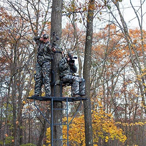 Best Sniper Ladder Stands - Rivers Edge 2 Man Bowman Ladder