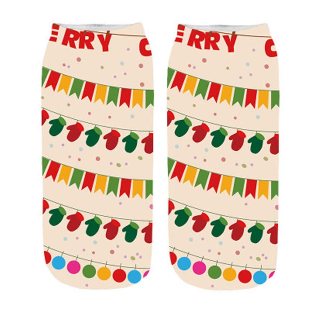 ☺Bequeme Weihnachten Socken Hausschuhe Short Liebhaber Socken ...