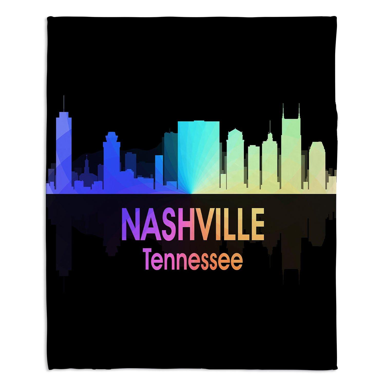 ブランケットウルトラソフトFuzzy 4サイズダイアノウチェデザインズ – Angelina Vick City V Nashville Tennesseeホーム装飾寝室ソファスローブランケット Large 80