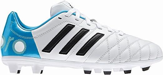 Adidas 11Nova TRX FG - Botas de fútbol para niños blanco ...