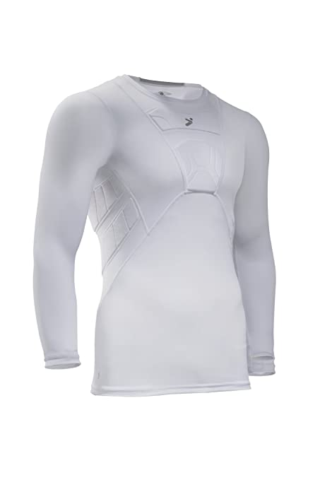 1bf04a1fbe1 Storelli Men's Long Sleeve Field Player Shirt, White, X-Large ...