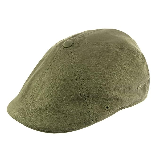 Verde Militar Gorra Newsboy Ripstop 504 de Kangol