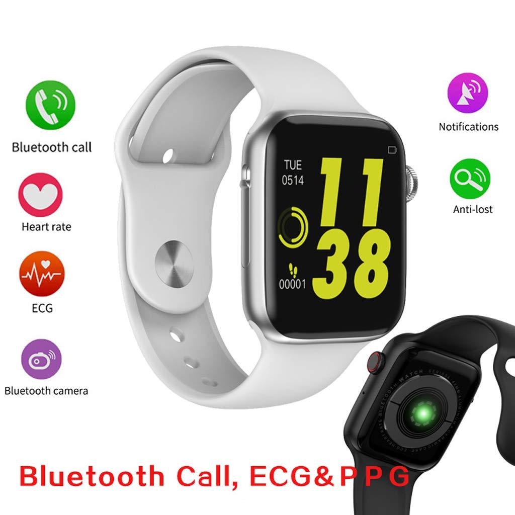 Amazon.com: Smart Watch, W34 Bluetooth Call Smart Watch ECG ...