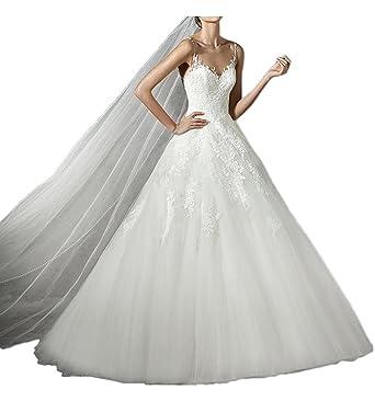 Prom Style Hochwertig Prinzessin Spitze Brautkleider Hochzeitskleder ...
