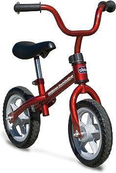 Oferta amazon: Chicco Bicicleta sin Pedales First Bike para Niños de 2 a 5 Años hasta 25 Kg, Bici para Aprender a Mantener el Equilibrio con Manillar y Sillín Ajustables, Rojo - Juguetes para Niños de 2 a 5 Años