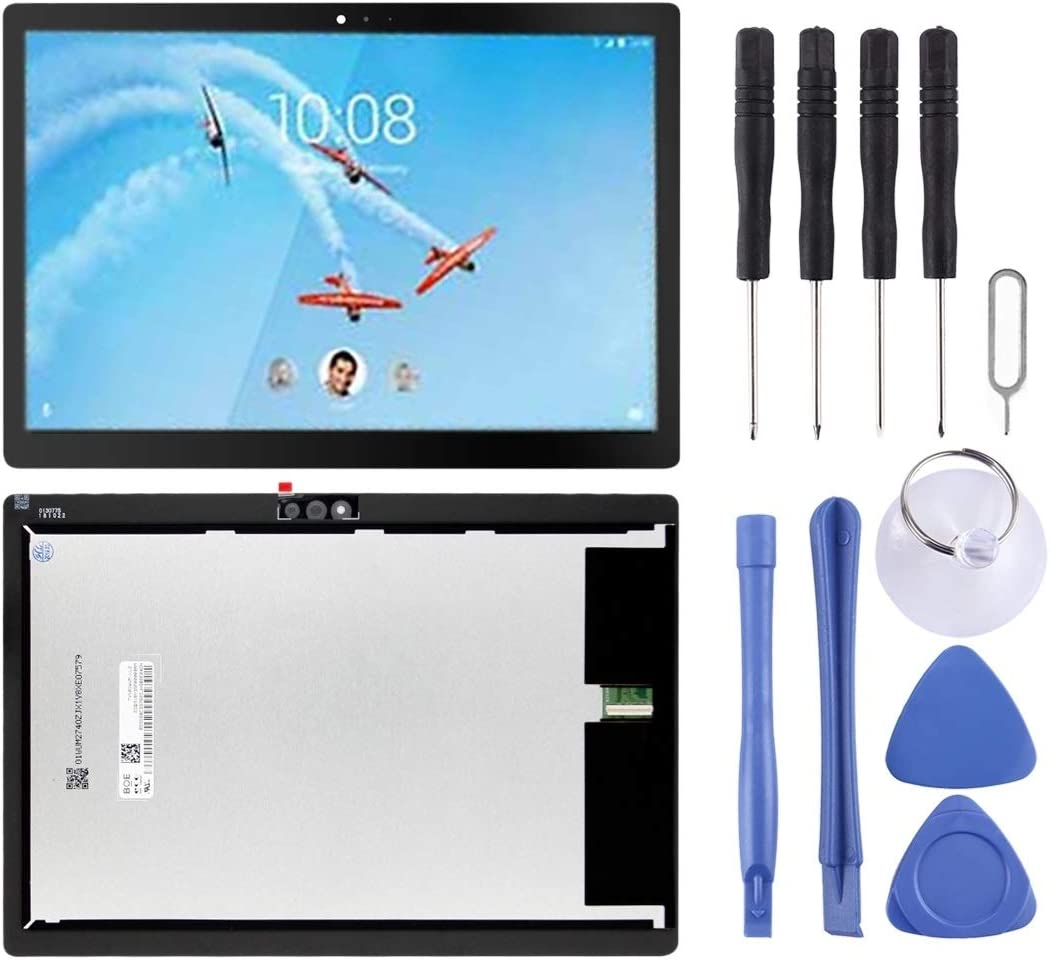 Wangl Lenovo Spare LCD Screen and Digitizer Full Assembly for Lenovo Tab M10 / Tab 5 Plus TB-X605L TB-X605F TB-X605M TB-X605(Black) Lenovo Spare (Color : Black)