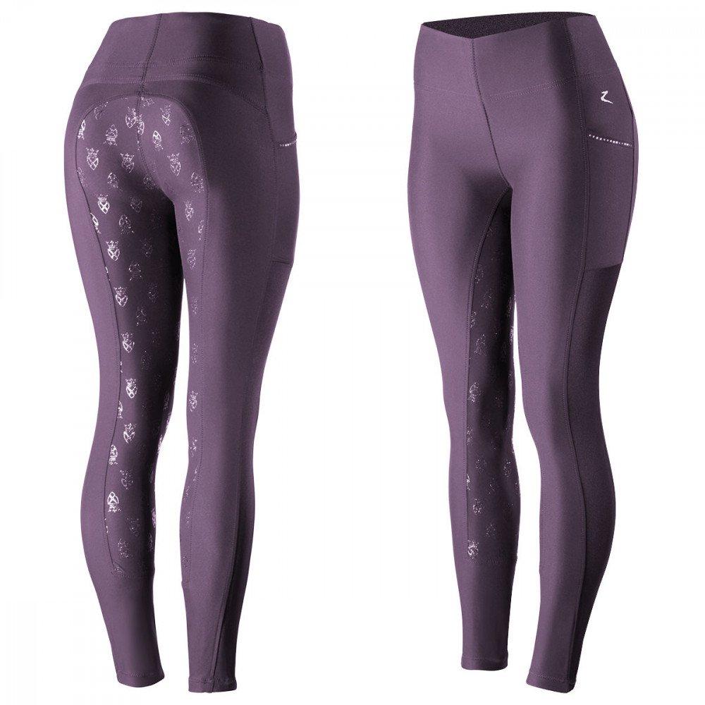 フジオカシ Horze 's Leah B01NALLHS0 Women 's Horze UV Pro夏Ridingタイツ B01NALLHS0 24|パープル パープル 24, sawa a la mode サワアラモード:870b1664 --- svecha37.ru