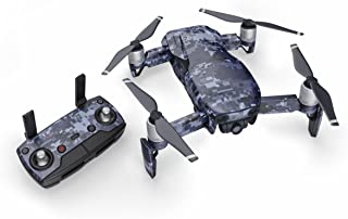 product image for Digital Navy Camo 51 Piece Decal Kit for DJI Mavic Air Drone - Includes Drone Skin, Controller Skin and 3 Battery Skin