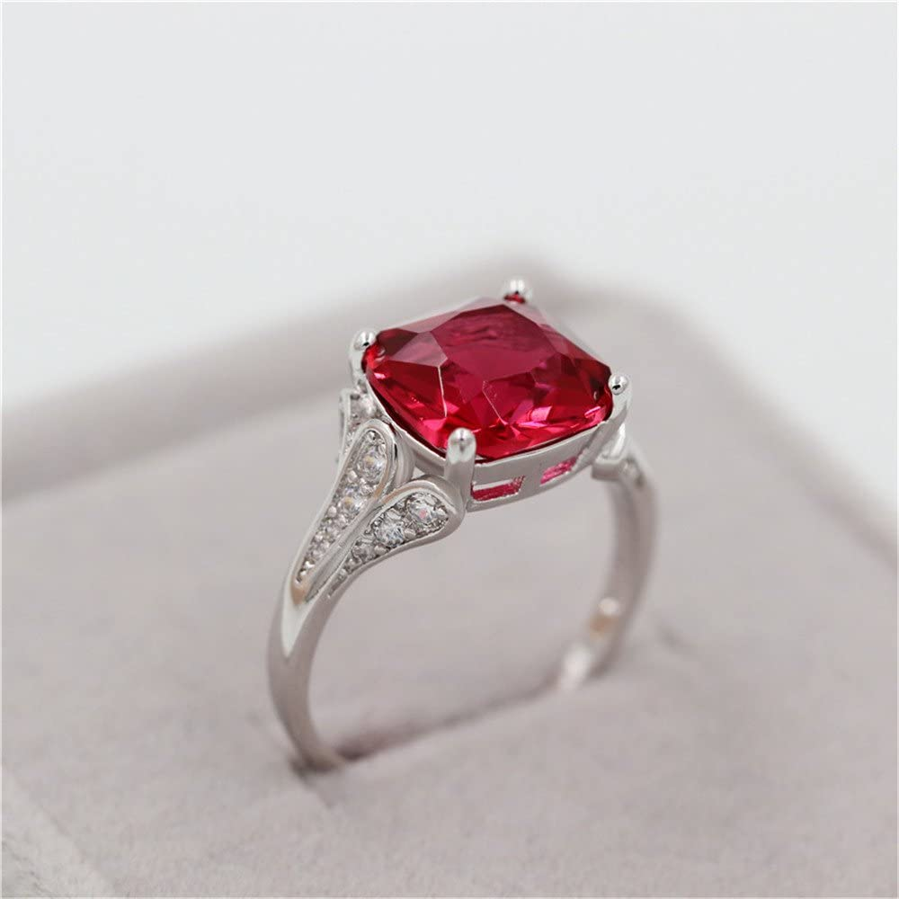 Sterling Silver 925 Champagne Rose cut Diamond With Natural Ruby Uneven Stone Red Color Antique Ring.