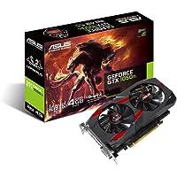 Asus Cerberus-GTX1050TI-A4G Gaming Grafikkarte (Nvidia, PCIe 3.0, 4GB GDDR5 Speicher, DVI, HDMI, Display Port)