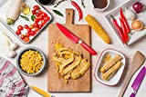 Utopia Kitchen 12-Piece Colored Knife Set - Super