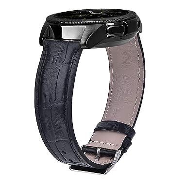 para Samsung Gear Deporte Bandas - leathr de Vaca auténtica de ...