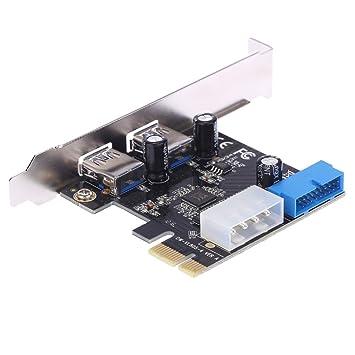 SchöN Pci-e Express Adapter Eine 5 Usb 3.0 Ports Hub Neue Interne Erweiterungskarte Computer & Büro