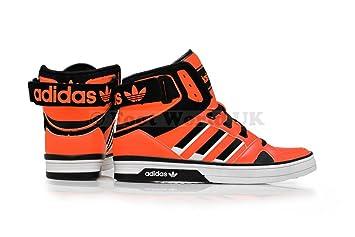 Adidas Sneaker Schwarz Orange