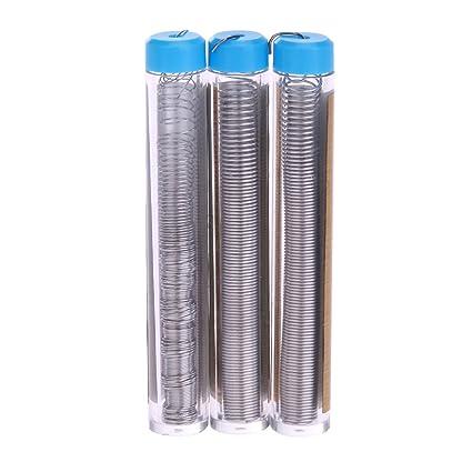 YouN 3 piezas / lote de alambre de estaño portátil para soldar bolígrafos de alambre para
